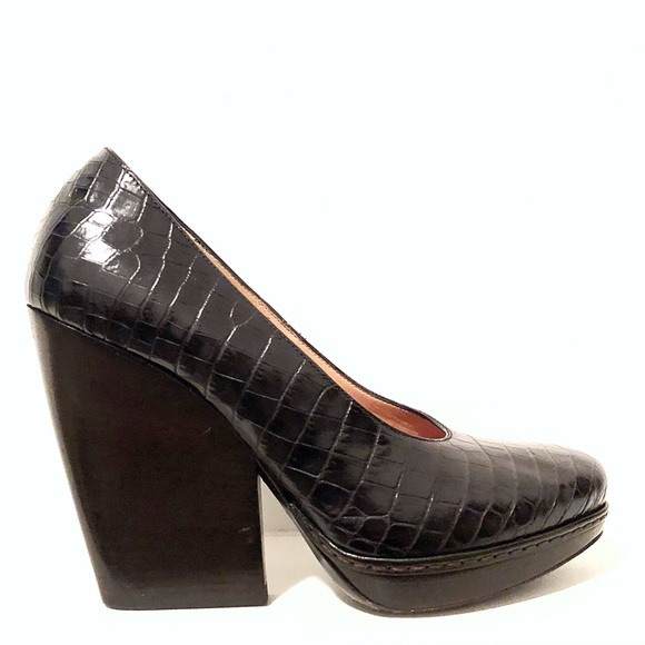 Dries Van Noten Leather Embossed Oxfords official site sale online new styles cheap online exclusive sale online f2xOY5pN